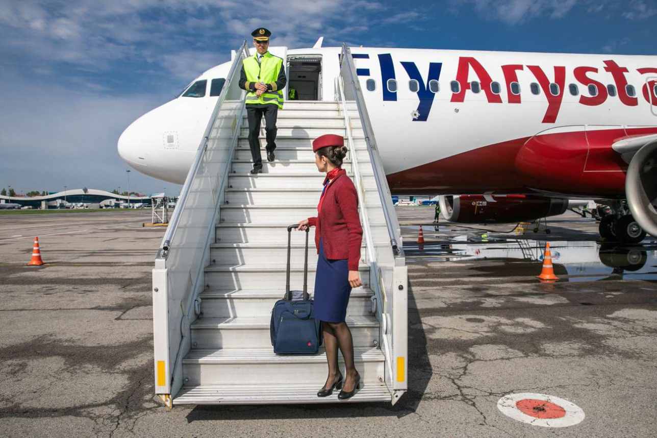 Самолёт FlyArystan
