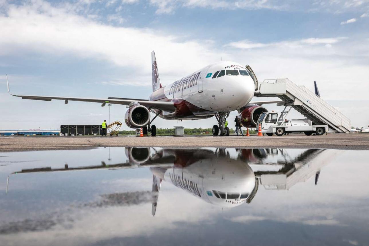 Самолёт лоукостера FlyArystan