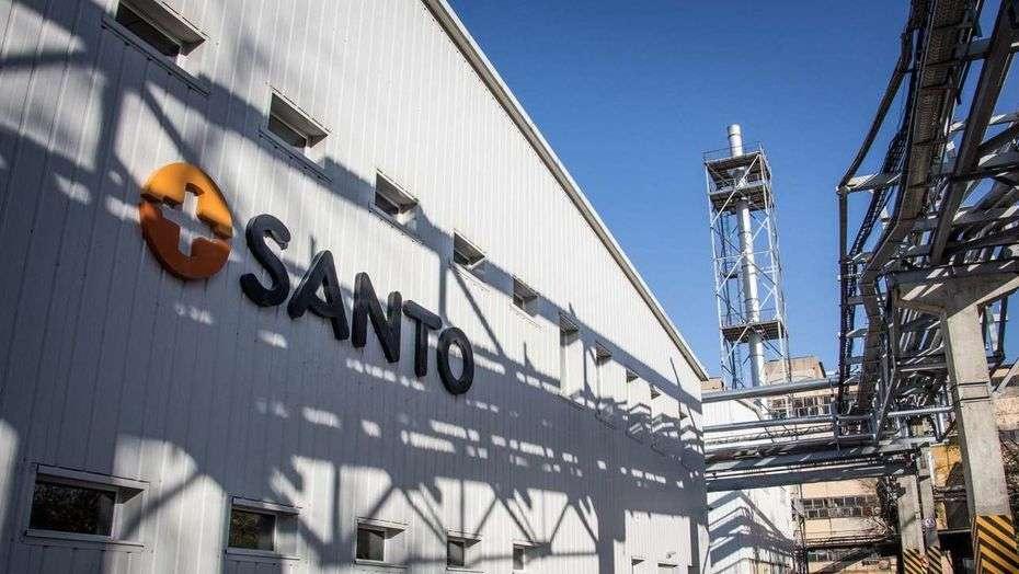 Завод SANTO в Шымкенте