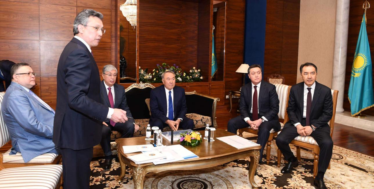 Елбасы представили план развития столицы