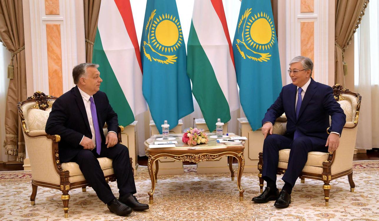 Встреча с премьер-министром Венгрии