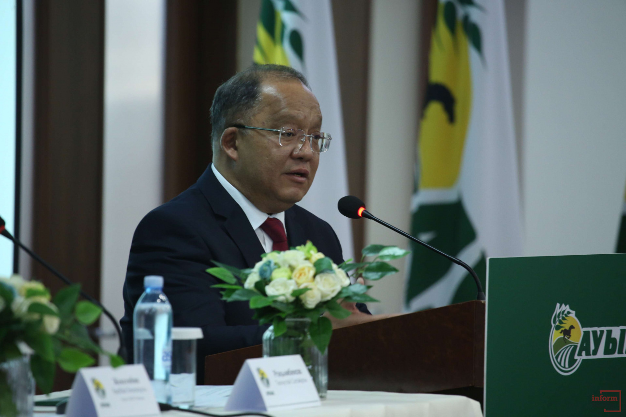 Кандидат в президенты Толеутай Рахимбеков