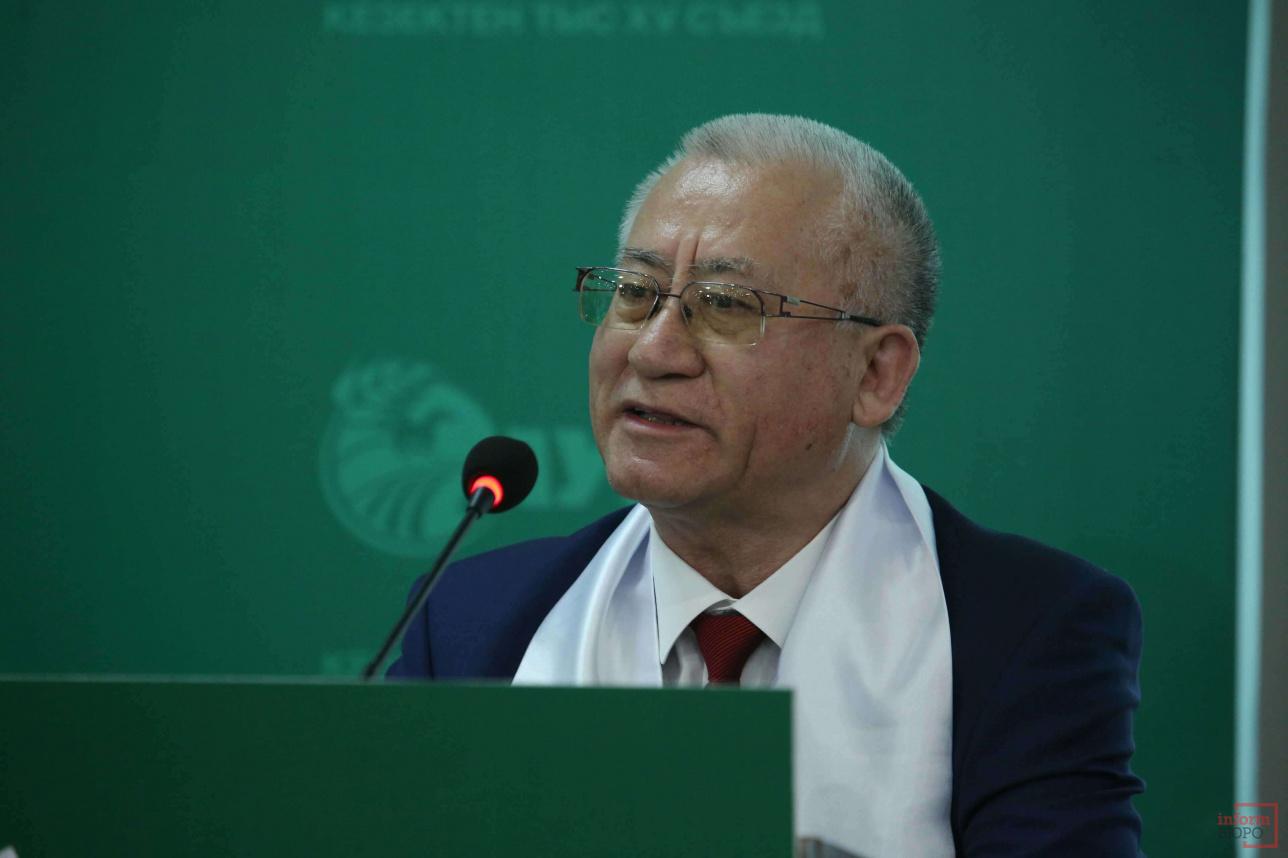 Делегат из Костанайской области Сабит Исмуратов