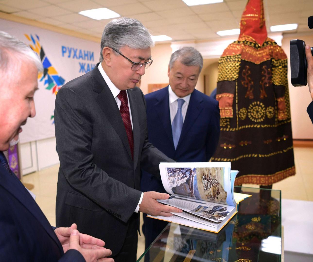 Президент Казахстана посетил ВКО