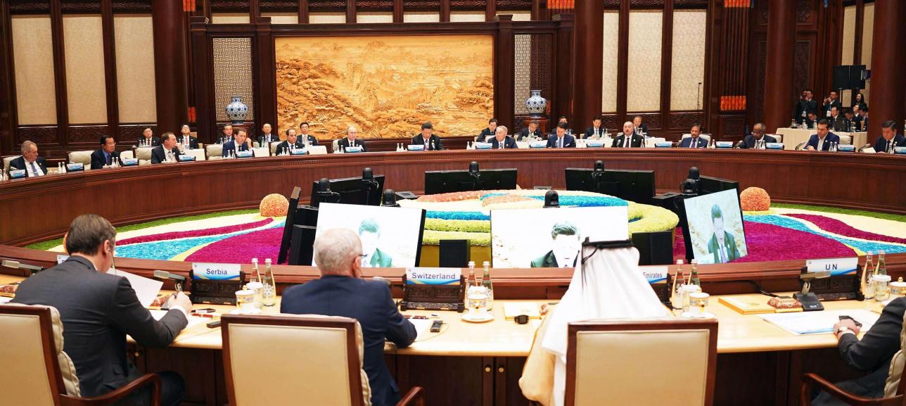 во время выступления Назарбаев рассказал о возможных путях преодоления современных глобальных вызовов