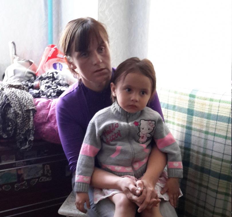 Старшему ребёнку женщины 3,5 года.
