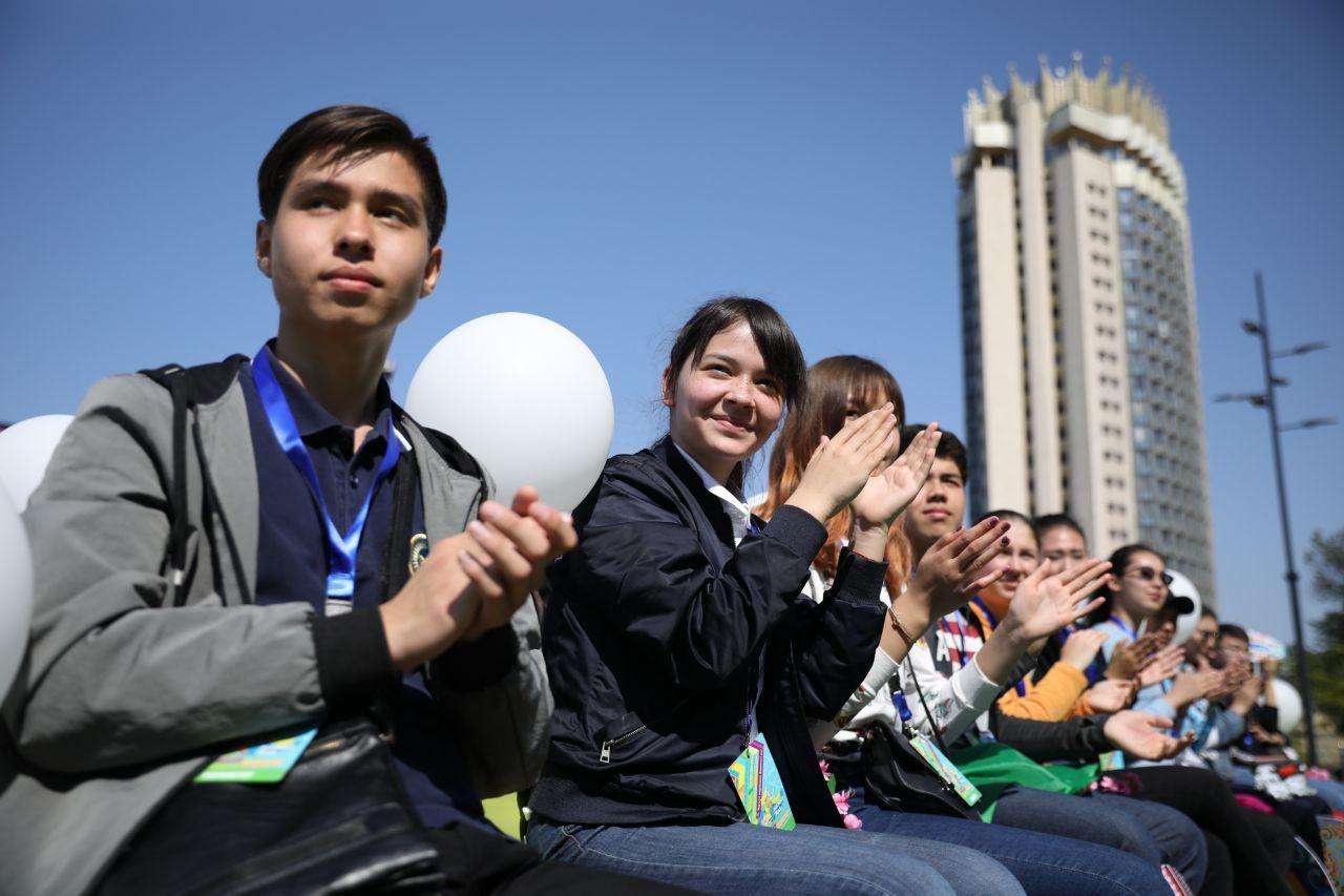 День единства народа Казахстана отпраздновали в Алматы
