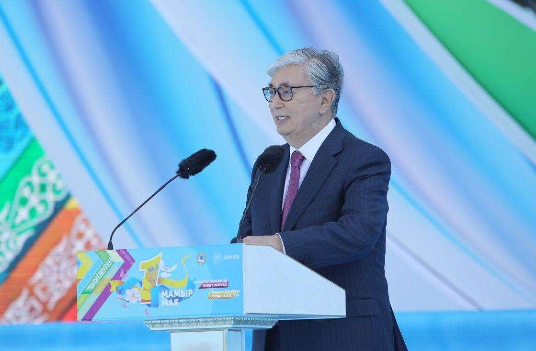 Касым-Жомарт Токаев в Алматы