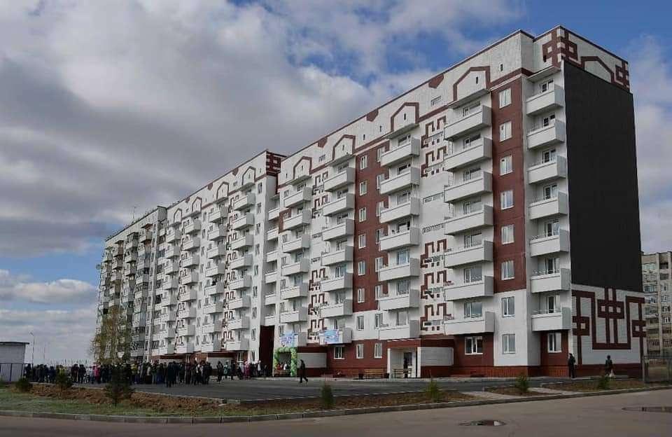 249 многодетных семей получили жильё
