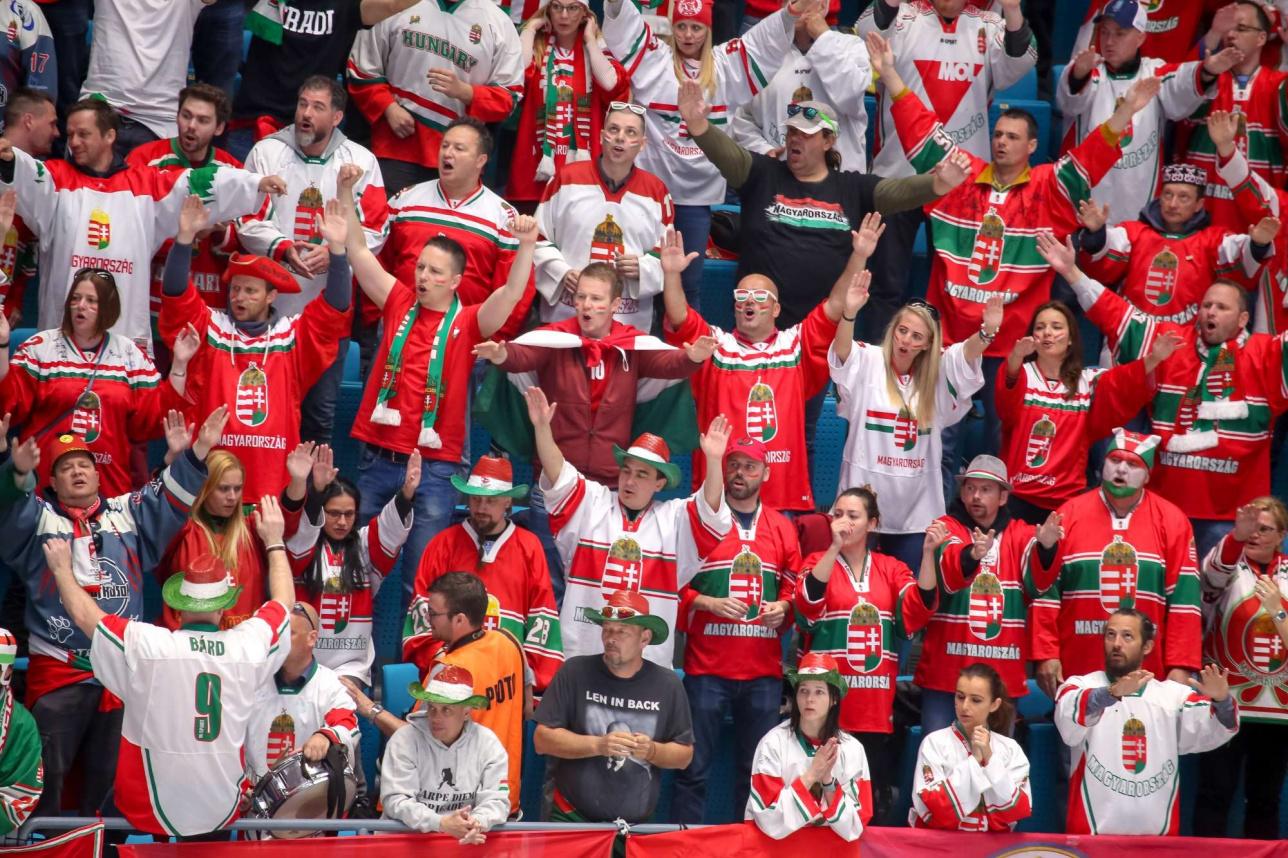 Болельщики сборной Венгрии горячо поддерживали свою сборную