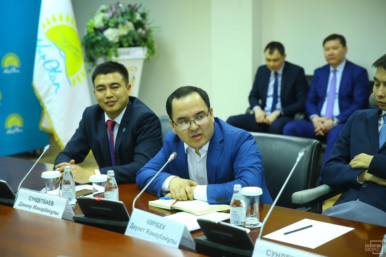 Члены совета единогласно проголосовали за кандидатуру Даулета Карибека