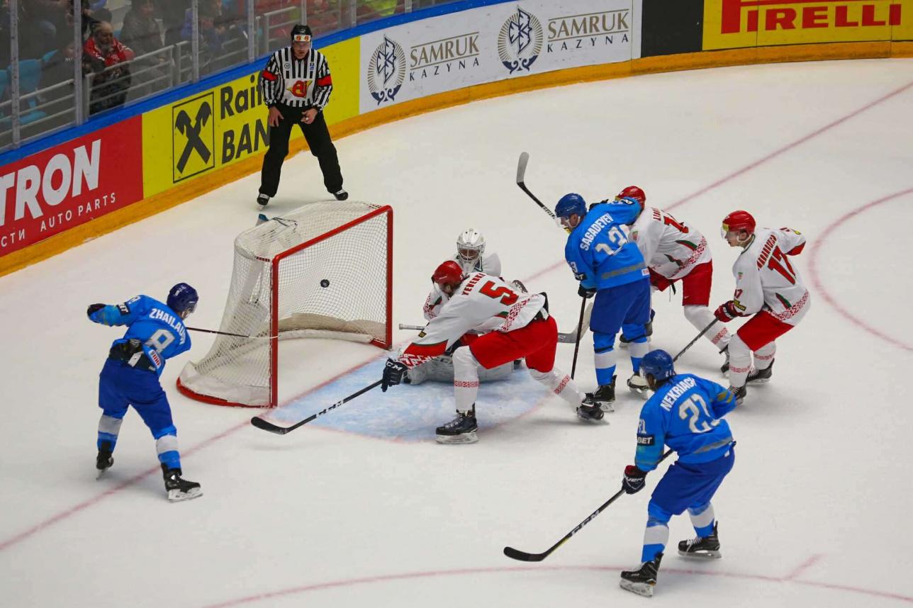 Гол сборной Казахстана