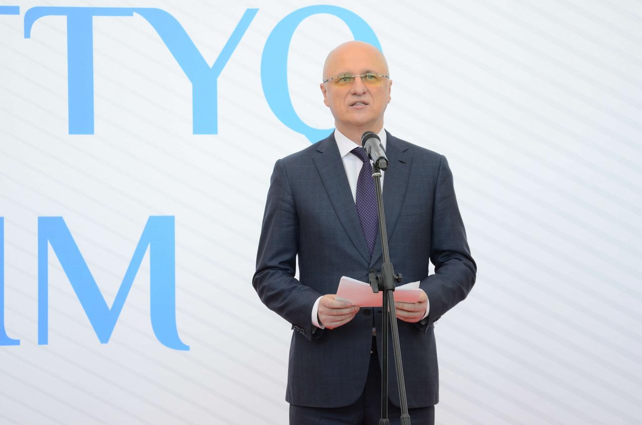 Министр индустрии и инфраструктурного развития РК Роман Скляр