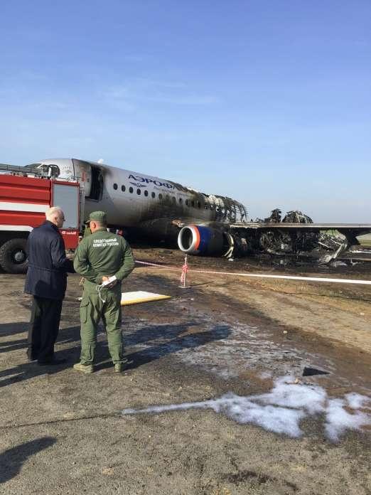 Возбуждено уголовное дело по факту аварийной посадки пассажирского самолёта в Шереметьево