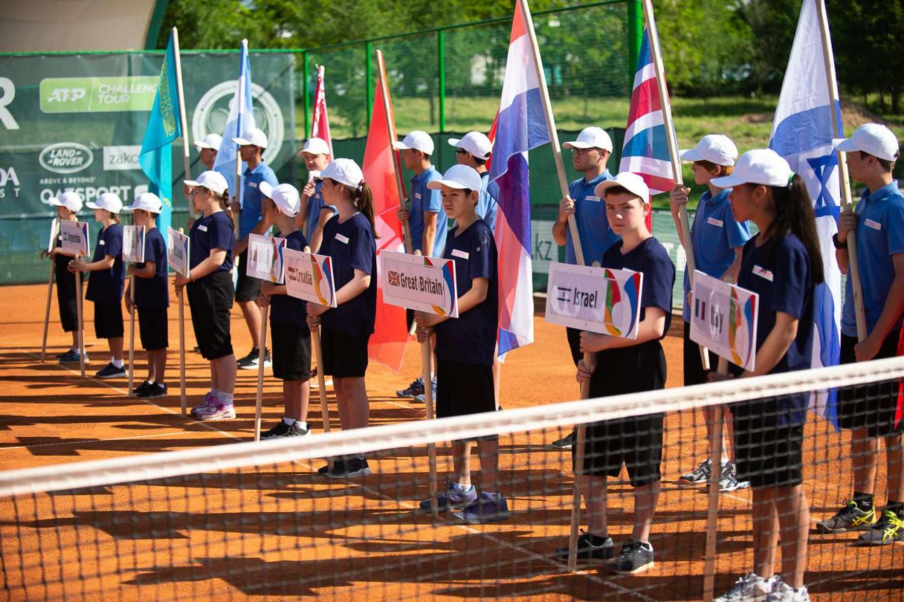 На турнир в Шымкент прилетели теннисисты из первой сотни мирового рейтинга