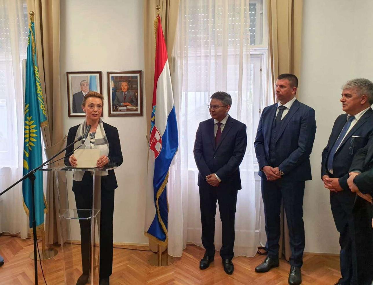 Посольство Казахстана в Хорватии