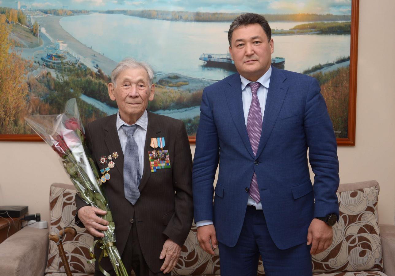 Булат Бакауов и Бекбулат Хазыров