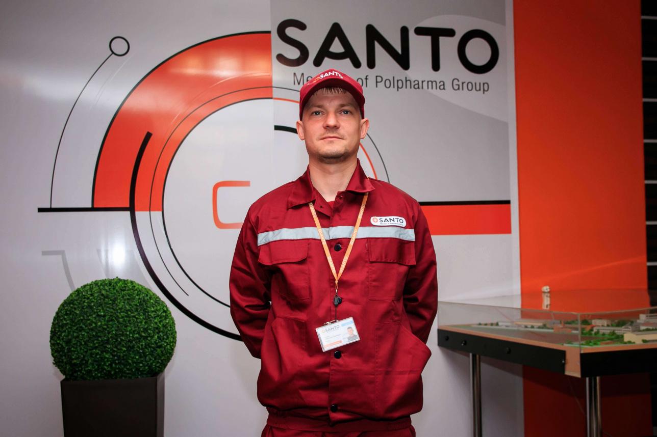 Александр Петаев, инженер отдела внутрипроизводственных медиа