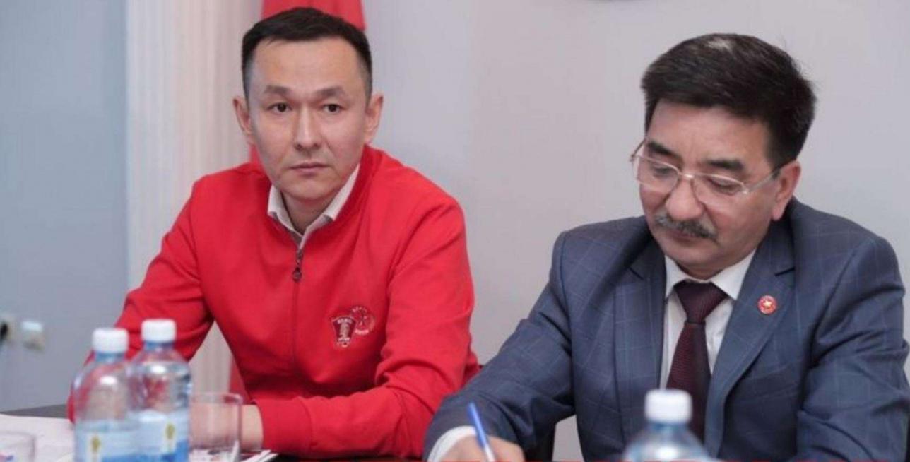 Айкын Конуров и Жамбыл Ахметбеков