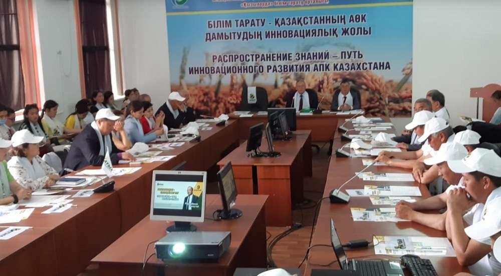 Штаб Толеутая Рахимбекова провёл встречу в Кызылординском институте рисоводства