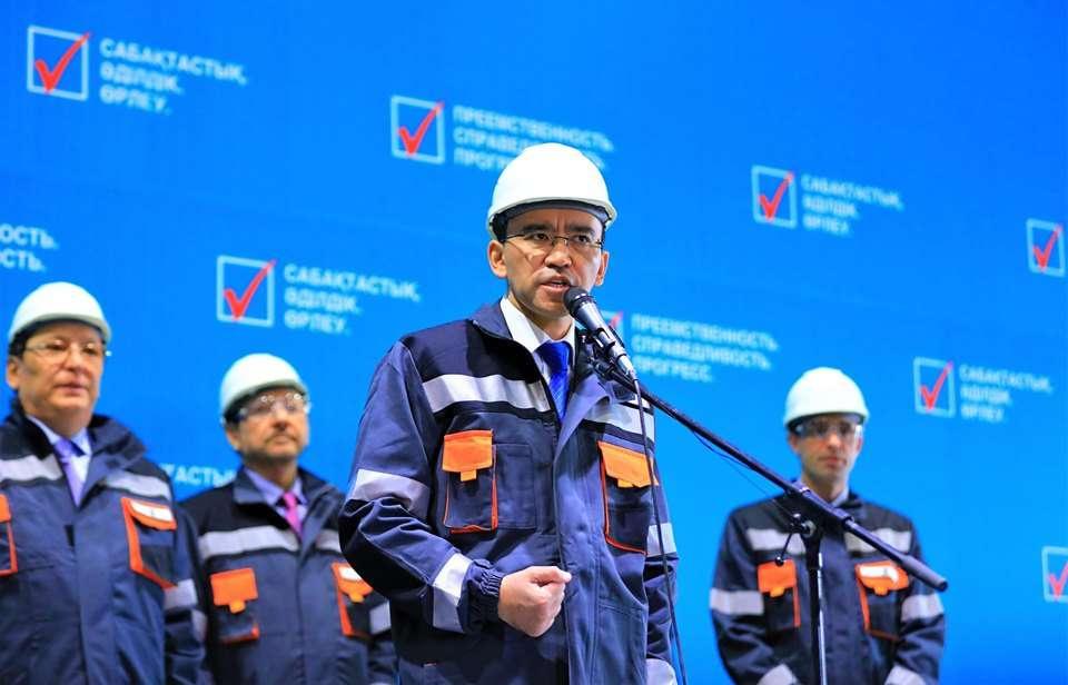 Штаб Токаева встретился с избирателями в Рудном