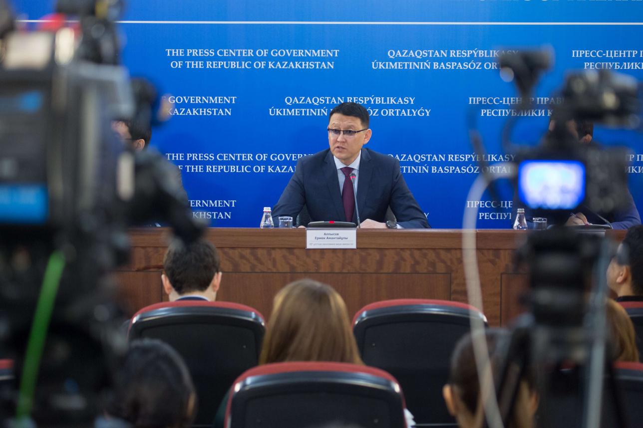Вице-министр национальной экономики РК Ермек Алпысов