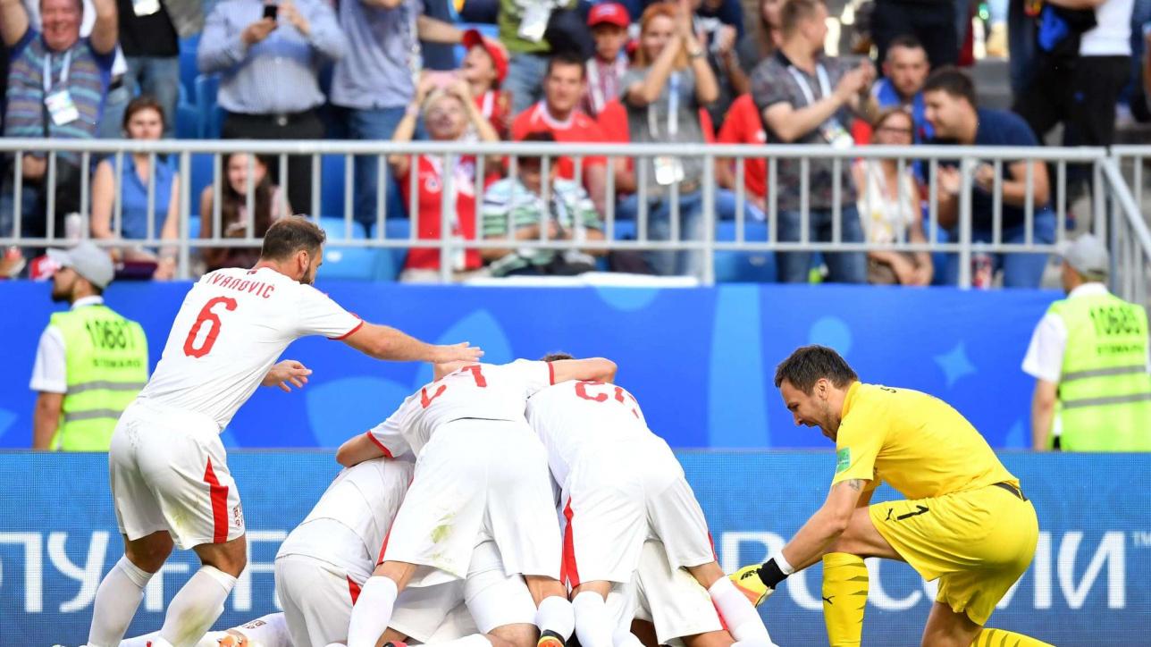 Матч Коста - Рика Сербия на ЧМ - 2018