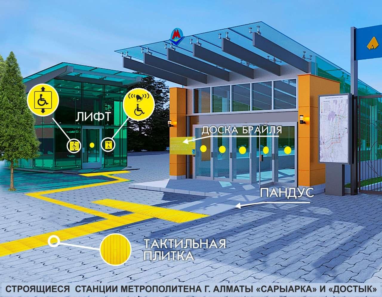 Новые станции метро оснастят необходимым оборудованием для маломобильных групп