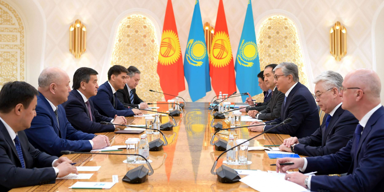 Жээнбеков пригласил Токаева посетить Кыргызстан