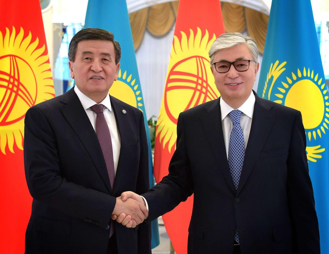 Президенты Казахстана и Кыргызстана встретились в Акорде