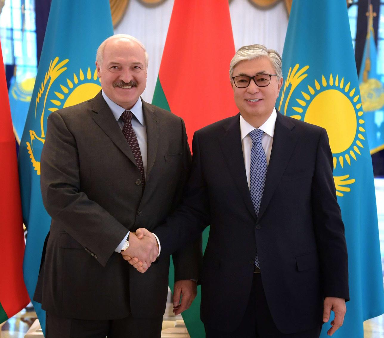 Токаев и Лукашенко встретились в Акорде