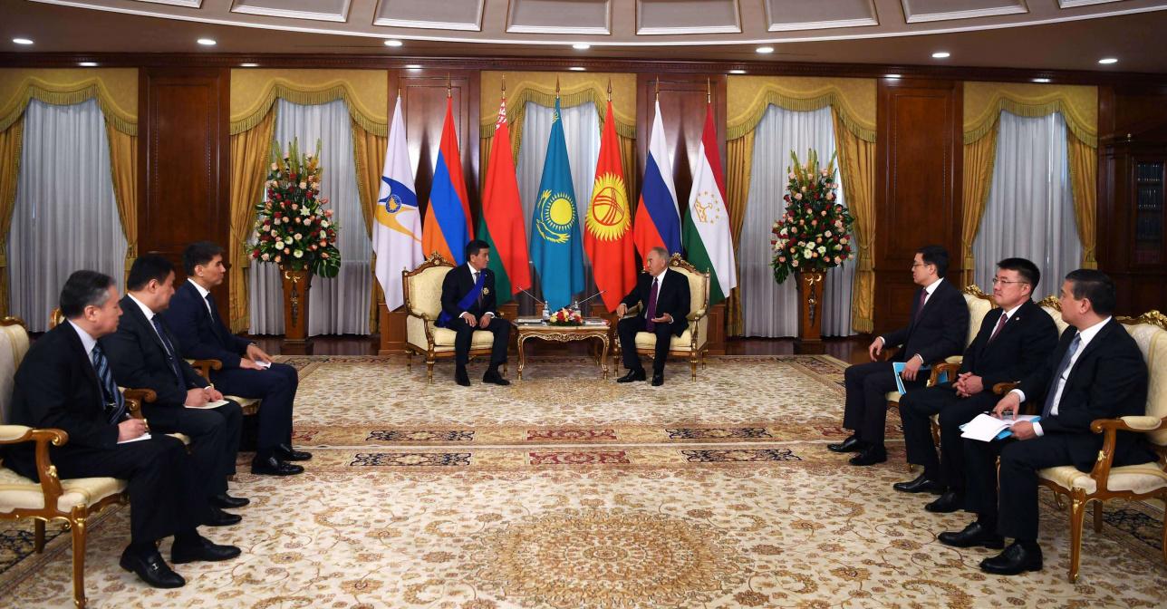 Жээнбеков назвал Первого Президента Казахстана лидером Тюркского мира