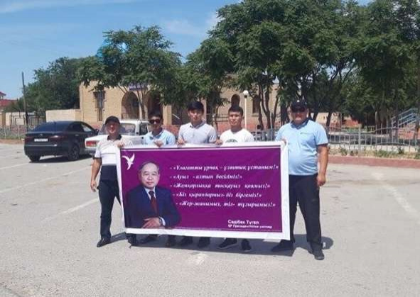 Агитация прошла в Туркестане