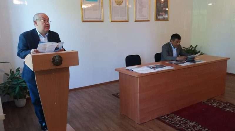 Встреча штаба Таспихова с избирателями в Зерендинском районе