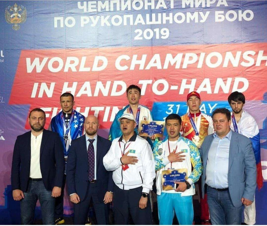 Казахстанские спортсмены