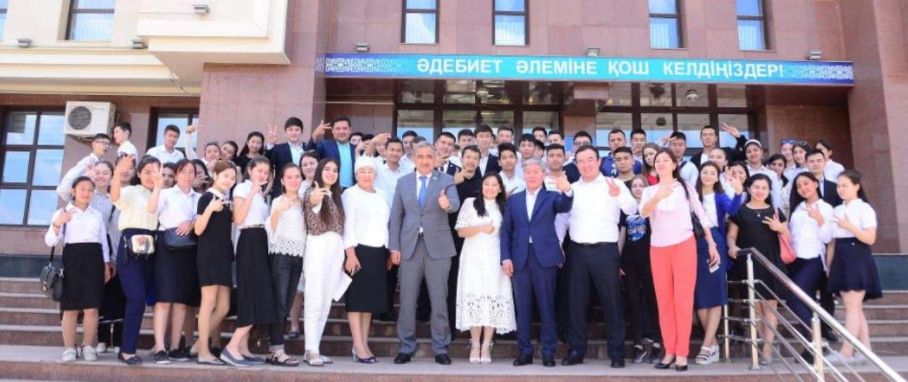 Штаб Токаева в Шымкенте