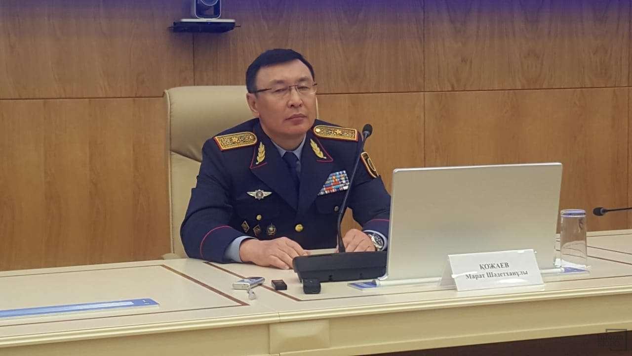 Первый заместитель министра внутренних дел Марат Кожаев
