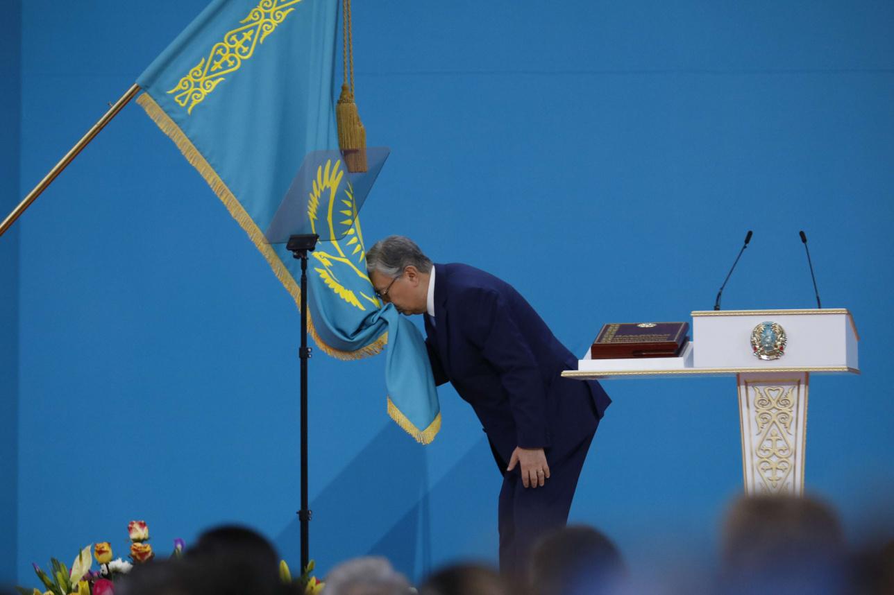 Токаев официально стал президентом РК