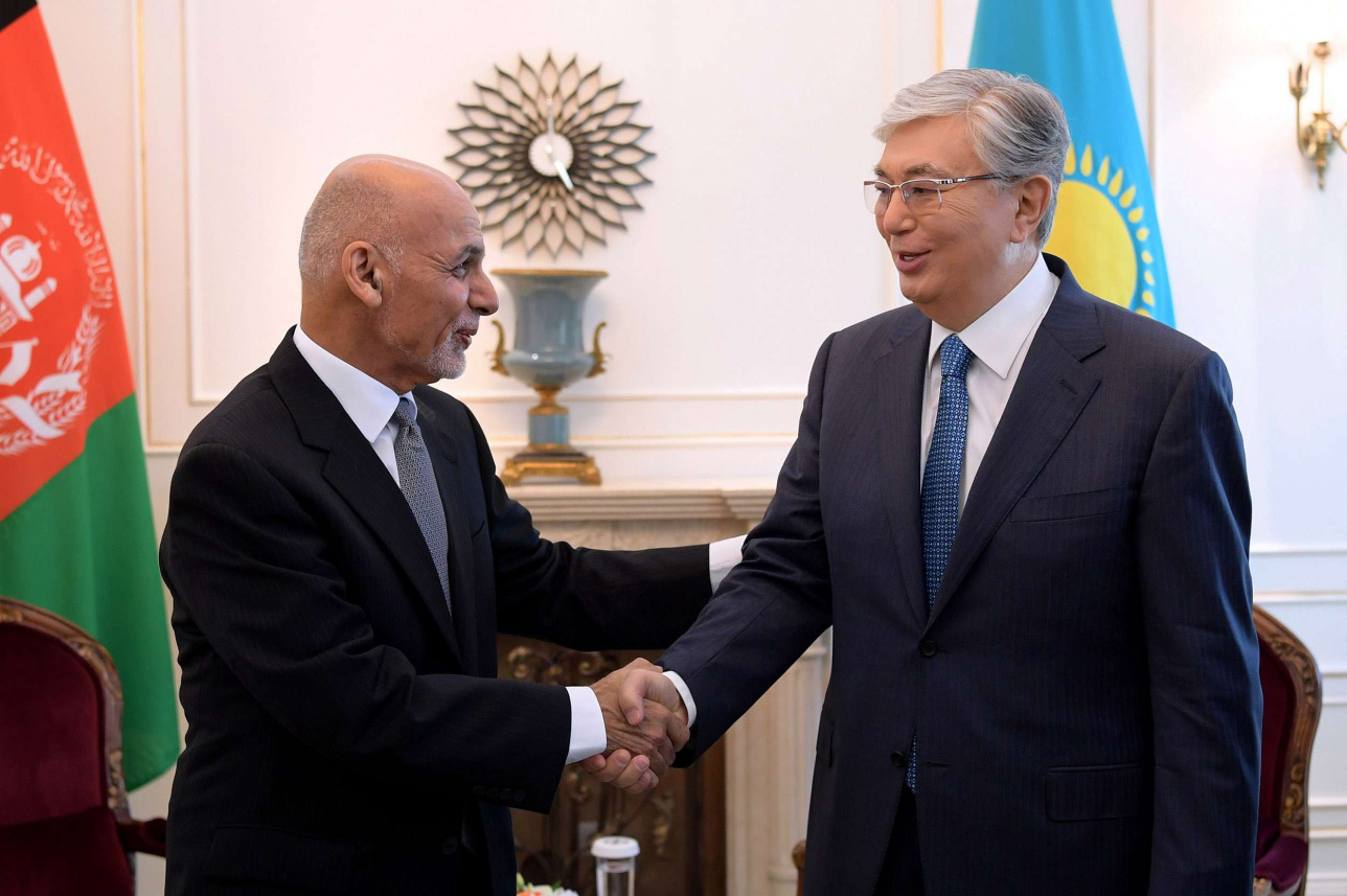 Токаев встретился с президентом Афганистана