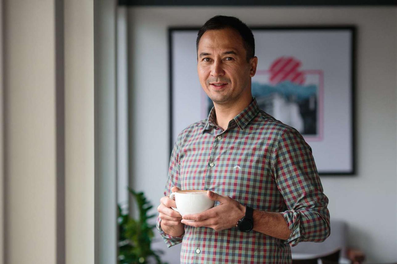Руслан Абишев, основатель ресторанной группы La Barca Family
