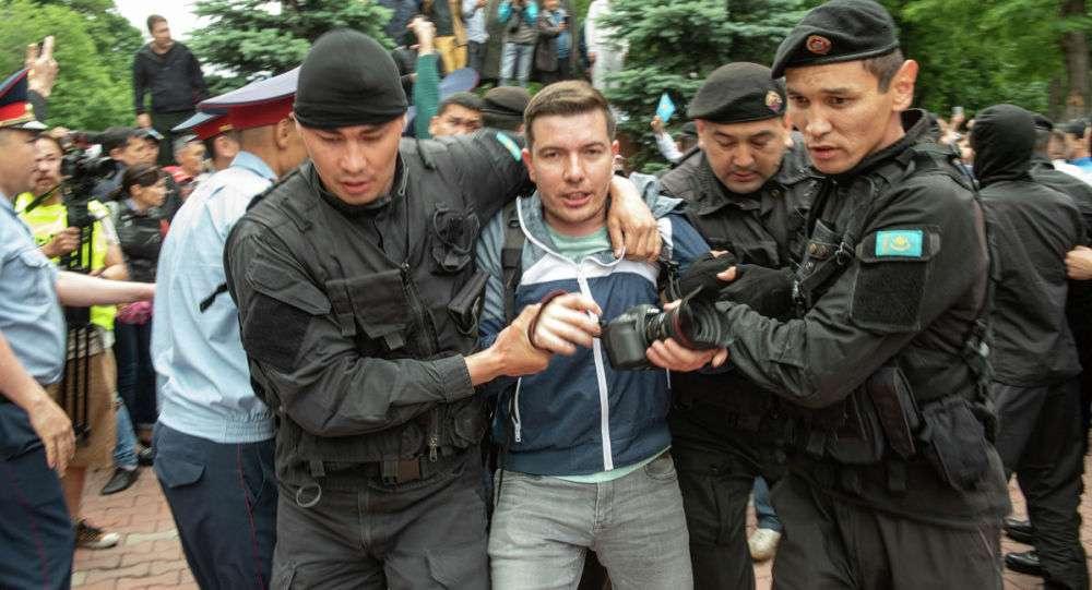 Задержание Петра Троценко
