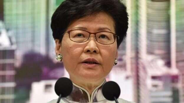 Кэрри Лам объявила о том, что рассмотрение законопроекта отложено