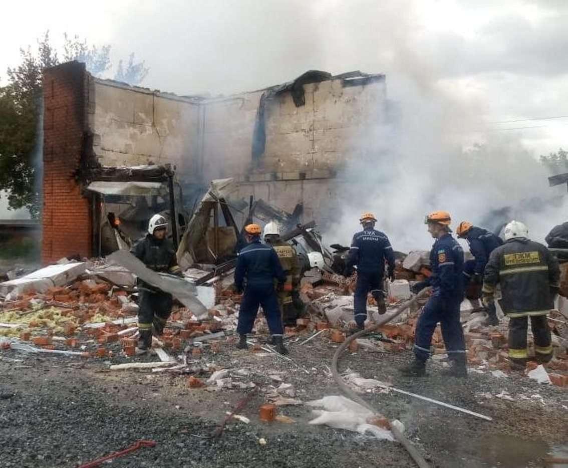 В Костанае на СТО взорвался газ