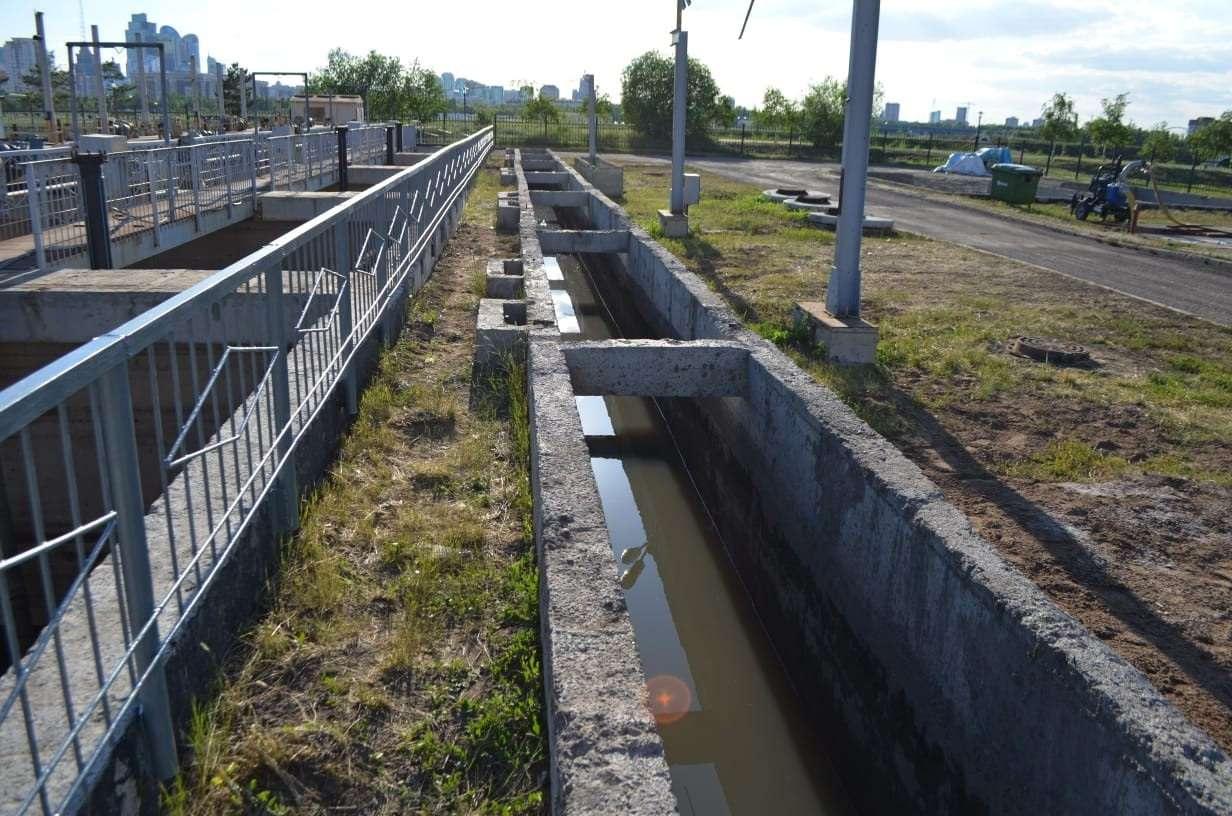 Кульгинов совершил объезд по объектам очистных сооружений города