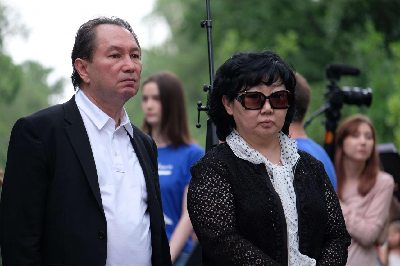 Юрий и Оксана Тен