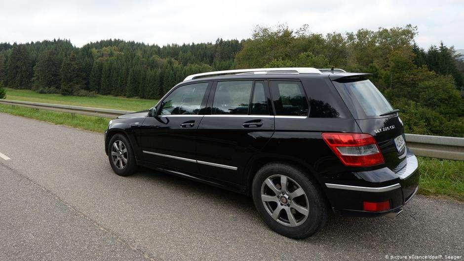 Автомобиль Mercedes GLK 220 CDI производства концерна Daimler
