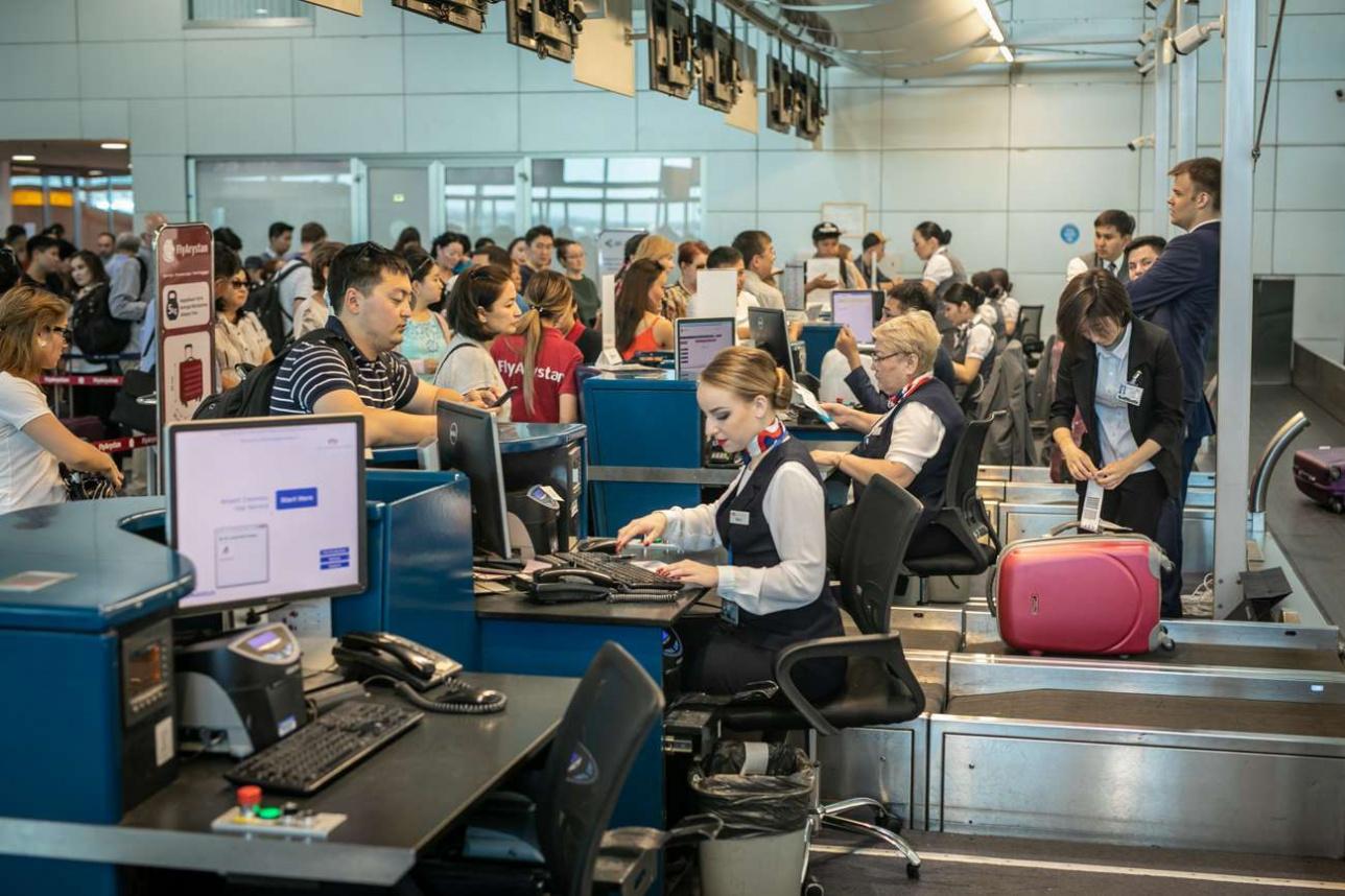 Регистрация пассажиров и багажа