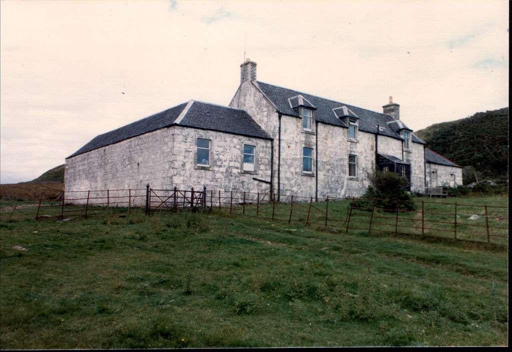 Дом на острое Джира, в котором писатель закончил роман «1984» / фото из Wikipedia