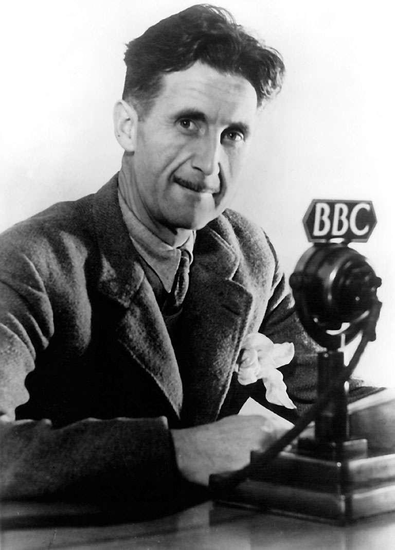 Оруэлл ведет антифашистскую программу на BBC / фото из Wikipedia