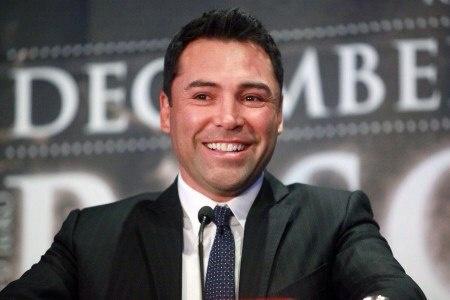 Оскар Де Ла Хойя рассчитывает собрать 350-500 тыс. платных просмотров.